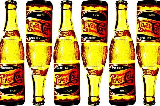 Pepsi Bottles - 1950's