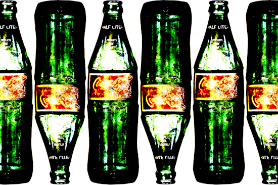 Coca-Cola Bottles - Half-Liter