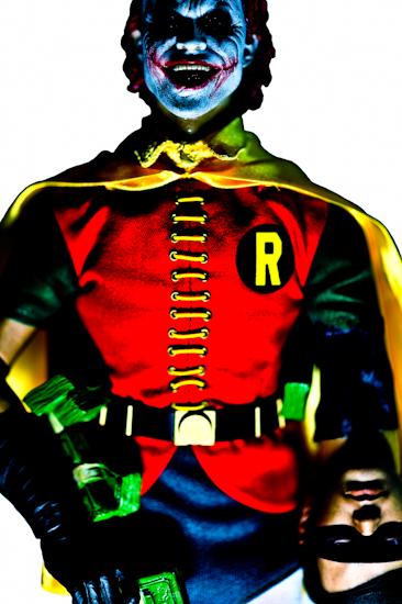 Joker (red hair, Robin), by Brett Howard Sproul