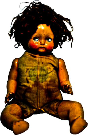 Doll (girl, fully intact) by Brett Howard Sproul. Giclee print is of an antique, vintage girl doll fully intact