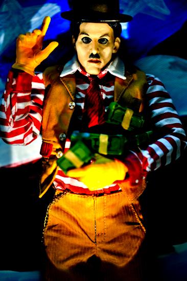 Charlie Chaplin (America 10) by Brett Howard Sproul