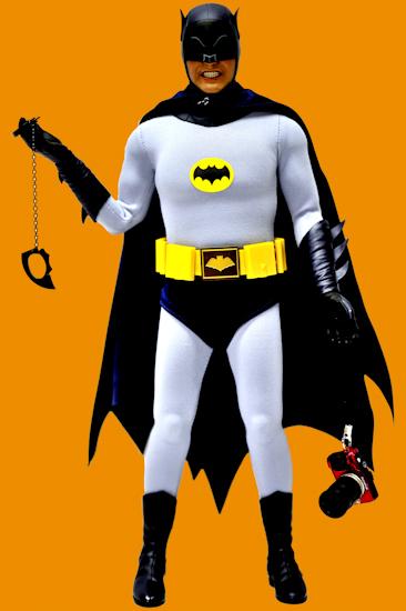 Batman (AW bat-cuffs camera orange) by Brett Howard Sproul.