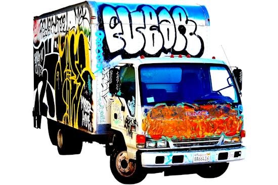 Graffiti Truck - GMC