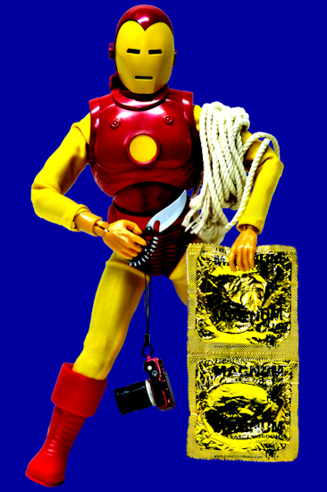 Iron-Man (condoms blue)