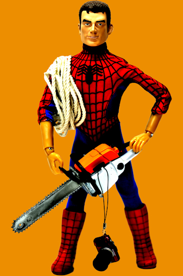 Peter Parker (chainsaw orange)