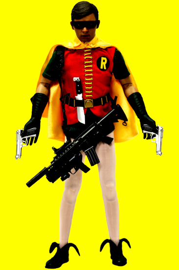 Robin (BW guns yellow)