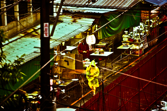 Side Street - Taipei, Taiwan by Brett Howard Sproul.