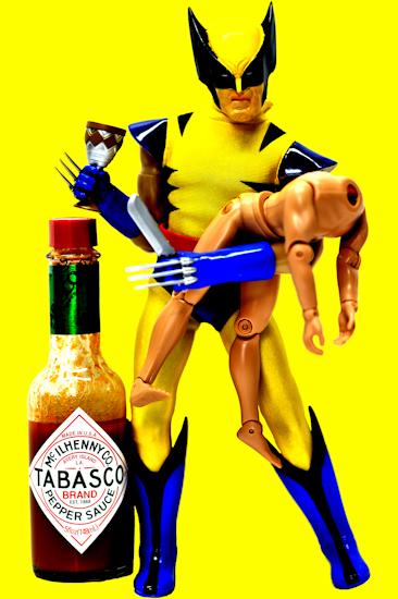 Wolverine (tabasco yellow) by Brett Howard Sproul.