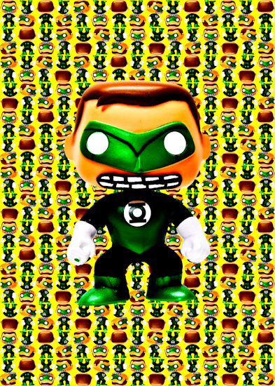 Green Lantern (Pop vinyl yellow)
