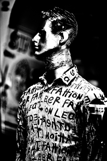 Mannequin (man, side) - Phnom Penh, Cambodia by Brett Howard Sproul