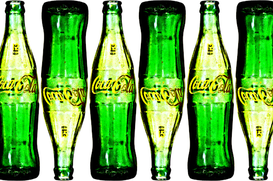 Coca-Cola Bottles - 1960's by Brett Howard Sproul.