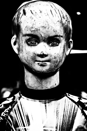 Mannequin (boy, front, hair) - Vientiane, Laos by Brett Howard Sproul
