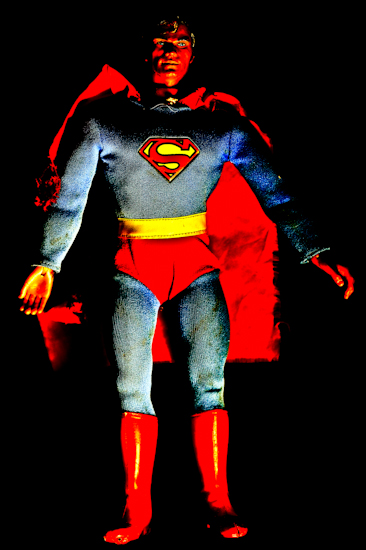 Superman (Mego color far) by Brett Howard Sproul
