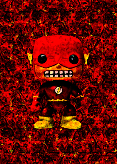 Flash (Pop vinyl) by Brett Howard Sproul