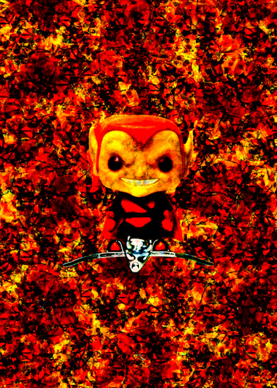Hobgoblin (Pop bobble-head) by Brett Howard Sproul