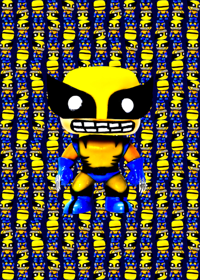 Wolverine (Pop bobble-head blue)