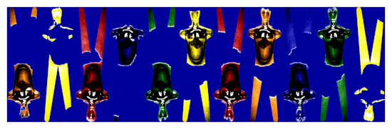 Body Forms (horizontal blue) by Brett Howard Sproul
