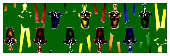 Body Forms (horizontal green) by Brett Howard Sproul