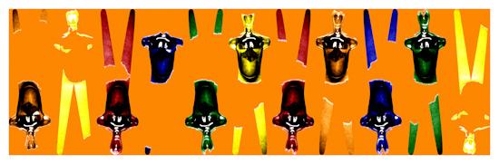 Body Forms (horizontal orange) by Brett Howard Sproul