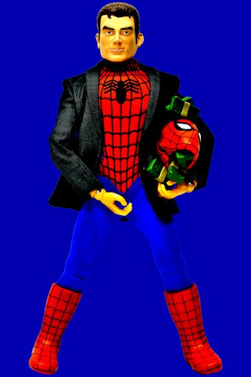 Peter Parker (money blue) by Brett Howard Sproul