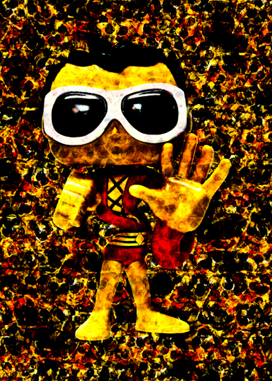 Plastic Man (Pop vinyl) by Brett Howard Sproul