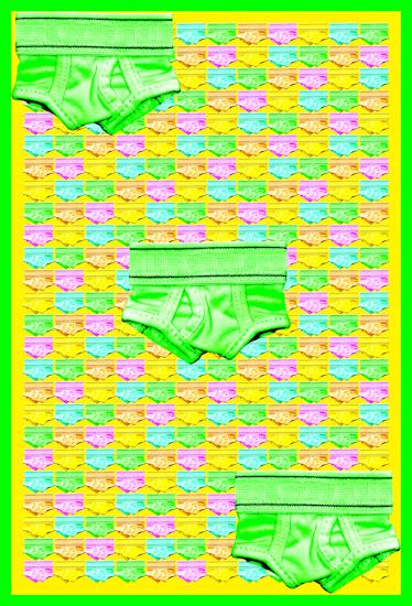 Underwear (y-front green) by Brett Howard Sproul