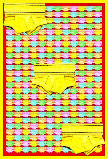 Underwear (y-front yellow) by Brett Howard Sproul