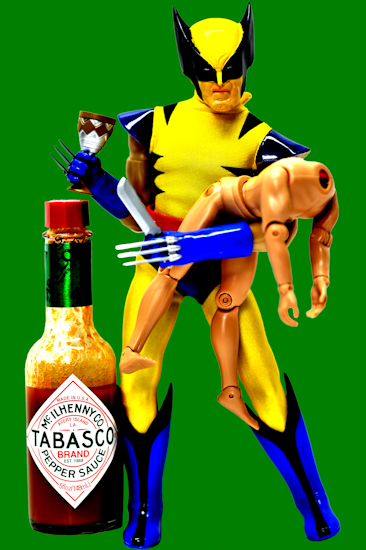Wolverine (tabasco green) by Brett Howard Sproul