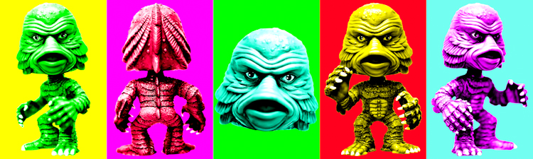 Creature From The Black Lagoon (Funko Force multi-color) by Brett Howard Sproul