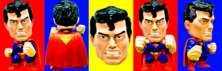 Superman (Funko Force multi-color) by Brett Howard Sproul